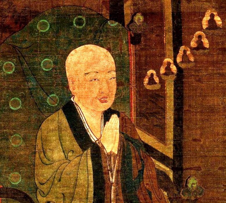 Master Shandao, fundador de hecho de la Escuela de la Tierra Pura